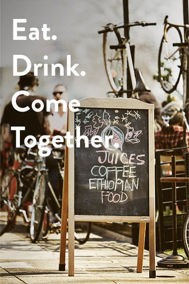 Eat. Drink. Come Together.