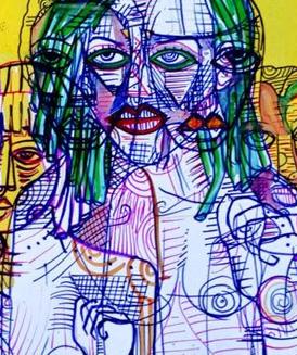 Artist Mahader Tesfai Eritrea